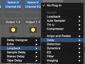 Select Loopback Plugin