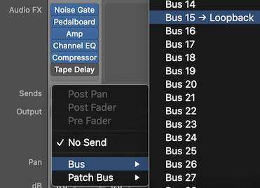 Send To Bus