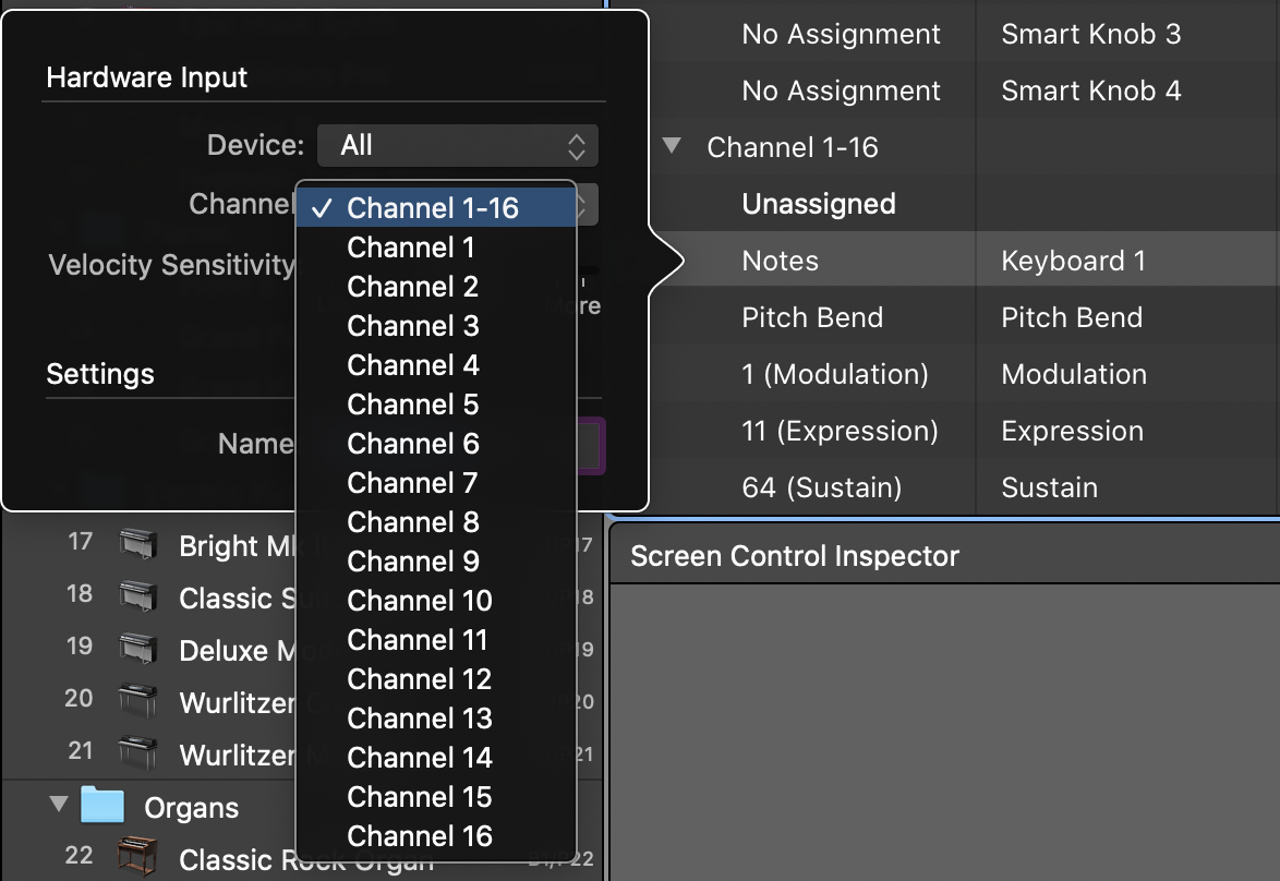 MIDI Channels and Channel Modes