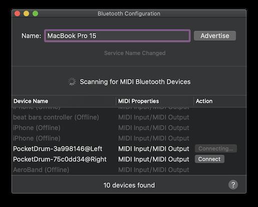 Bluetooth Configuration